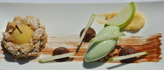 Dessert Pomme Chartreuse